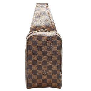 Louis Vuitton Brown Damier Ebene Canvas Geronimos Belt Bag