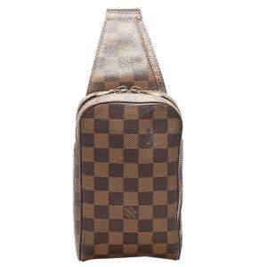 Louis Vuitton Brown Damier Ebene Canvas Geronimos Belt Bag