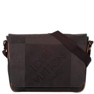 Louis Vuitton Brown Damier Geant Canvas Terre Messenger Bag