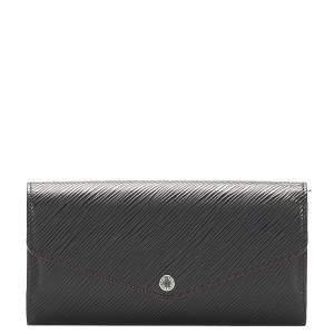 Louis Vuitton Black Empreinte Leather Sarah Wallet