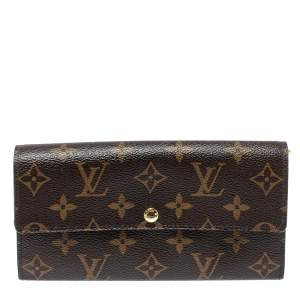 Louis Vuitton Monogram Canvas Fleuri Sarah Wallet