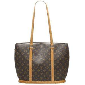 Louis Vuitton Brown Monogram Canvas Babylone Bag
