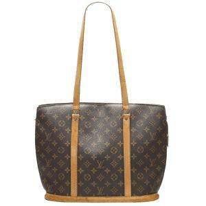Louis Vuitton Brown Monogram Canvas Babylone Bag