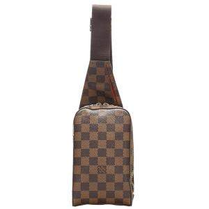 Louis Vuitton Damier Ebene Canvas Geronimos Bag