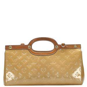 Louis Vuitton Brown Monogram Vernis Roxbury Drive Bag