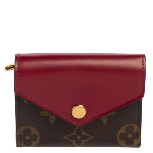 Louis Vuitton Fuchsia Monogram Canvas and Leather Zoe Wallet