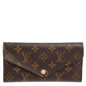 Louis Vuitton Rose Ballerine Monogram Canvas Josephine Wallet