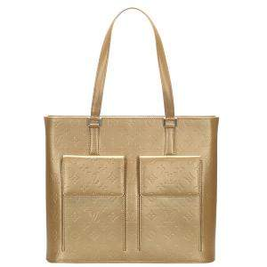 Louis Vuitton brown Monogram Mat Wilwood Tote