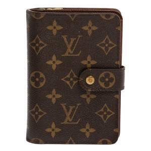 Louis Vuitton Monogram Canvas Porte Papier Zippe Wallet