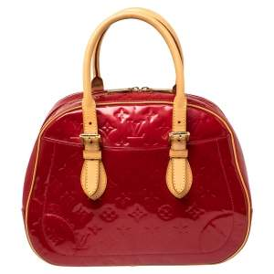 Louis Vuitton Pomme D'amour Vernis Summit Drive Bag