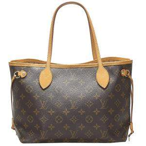 Louis Vuitton Brown Monogram Canvas Neverfull PM Bag