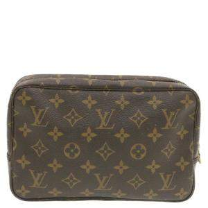 Louis Vuitton Brown Monogram Canvas Trousse Toilette Pouch