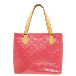 Louis Vuitton Pink Monogram Vernis Leather Houston Bag