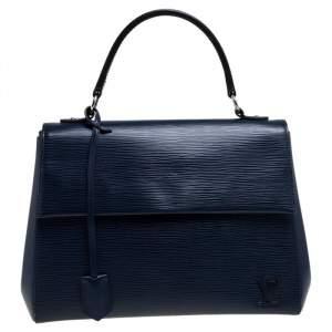 Louis Vuitton Indigo Epi Leather Cluny MM Bag