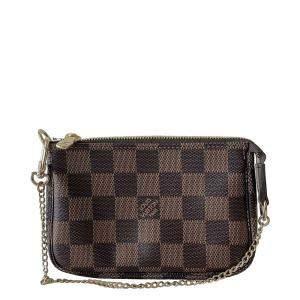 Louis Vuitton Brown Damier Ebene Pochette Accessoires Bag