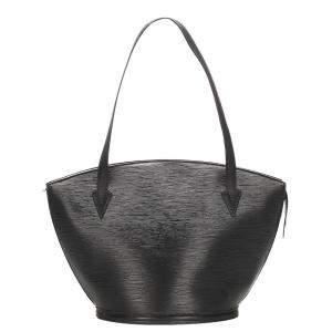 Louis Vuitton Black Epi Leather Saint Jacques Short Strap PM bag