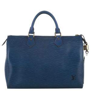 Louis Vuitton Epi Leather Speedy 30 Bag