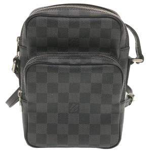 Louis Vuitton Black/Grey Damier Graphite Canvas Rem Crossbody Bag