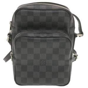 Louis Vuitton Black/Grey Damier Graphite Canvas Rem Crossbody Bag