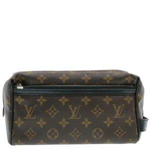 Louis Vuitton Monogram Macassar Toilet Pouch