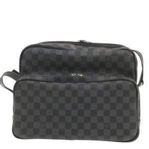 Louis Vuitton Damier Graphite Canvas Sac Leoh Messenger Bag