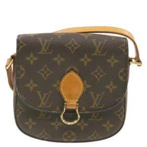 Louis Vuitton Brown Monogram French Saint-Cloud GM Bag