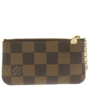 Louis Vuitton Brown Monogram Canvas Key Pouch
