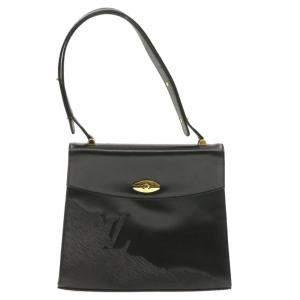 Louis Vuitton Black Leather Opera Line Delphes Bag