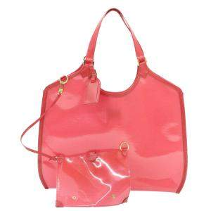 Louis Vuitton Red Epi Leather Plage Lagoon Bay GM Bag