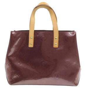 Louis Vuiiton Brown Monogram Vernis Reade PM Bag