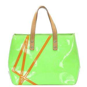 Louis Vuitton Green Monogram Vernis Robert Wilson Reade PM Bag