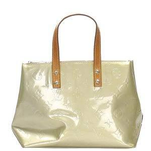 Louis Vuitton Gold Monogram Vernis Reade PM Bag