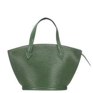Louis Vuitton Green Epi Leather Saint Jacques Short Strap PM bag