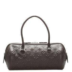 Louis Vuitton Brown Monogram Leather Revelation Neo Papillon PM Bag