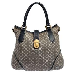 Louis Vuitton Encre Monogram Canvas and Leather Idylle Elegie Bag