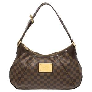 Louis Vuitton Damier Ebene Canvas Thames GM Bag