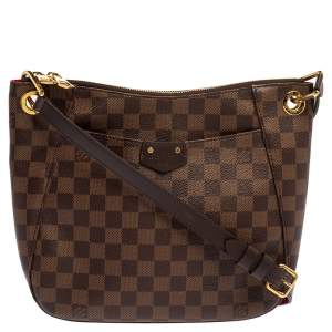 Louis Vuitton Damier Ebene Canvas South Bank Besace Bag