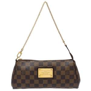 Louis Vuitton Damier Ebene Canvas Eva Pochette