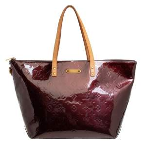 Louis Vuitton Amarante Monogram Vernis Bellevue GM Bag
