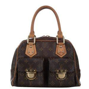 Louis Vuitton Monogram Canvas Manhattan PM Bag