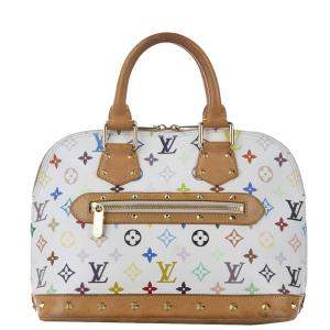 Louis Vuitton Monogram Multicolore Canvas Alma PM Bag