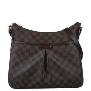 Louis Vuitton Brown Damier Ebene Canvas Bloomsbury PM Bag