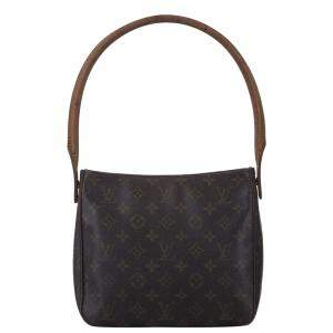 Louis Vuitton Brown Monogram Canvas Looping MM Bag