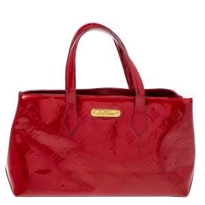 Louis Vuitton Pomme D'amour Vernis Wilshire PM Bag