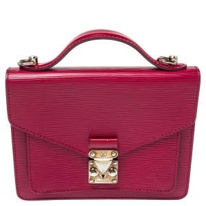 Louis Vuitton Fuchsia Epi Leather Monceau BB Bag