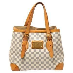 Louis Vuitton Damier Azur Canvas Hampstead MM Bag