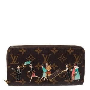 Louis Vuitton Monogram Canvas Illustre Zippy Wallet