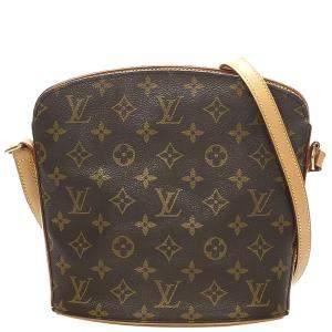 Louis Vuitton Monogram Canvas Drouot Bag