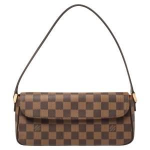 Louis Vuitton Damier Ebene Canvas Recoleta Bag