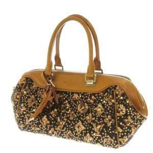 Louis Vuitton Brown/Gold Monogram Sunshine Express Baby Bag
